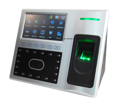 Biometric Facial Recognition Fingerprint Time Attendance with New Ui (FA1-H(new version)) pictures & photos