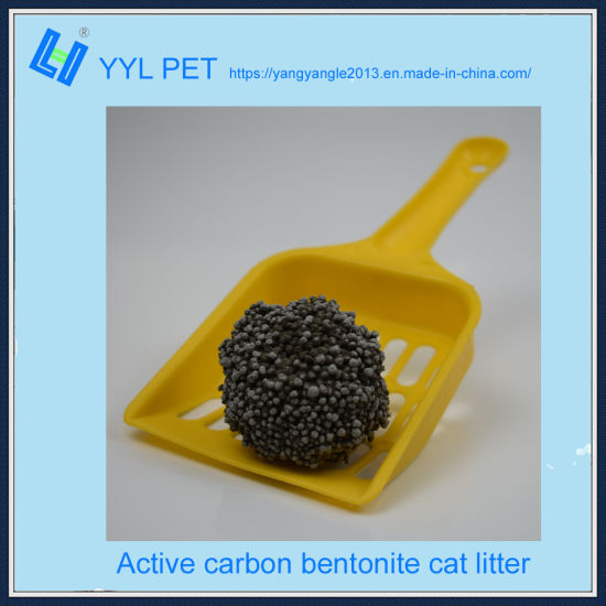 Odor Control Active Carbon Bentonite Cat Litter