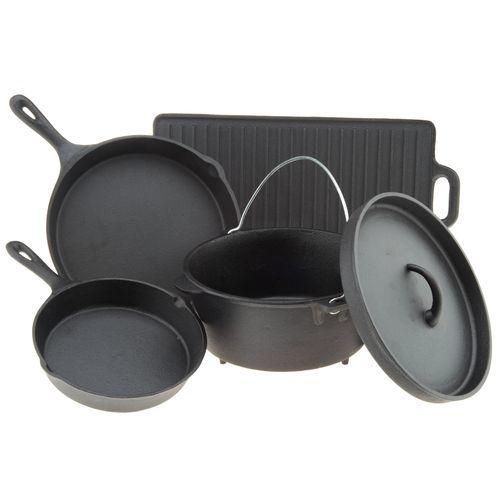 2018 Hot Sales Cast Iron Cookware Set