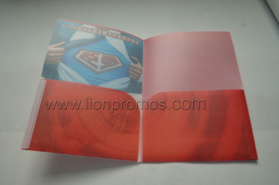 Custom Logo Printing PP Manila File Folder pictures & photos