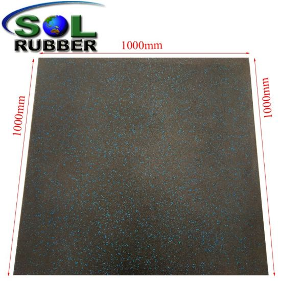 China Sol Rubber Wholesale Recycling Gym Rubber Mat Rubber Floor