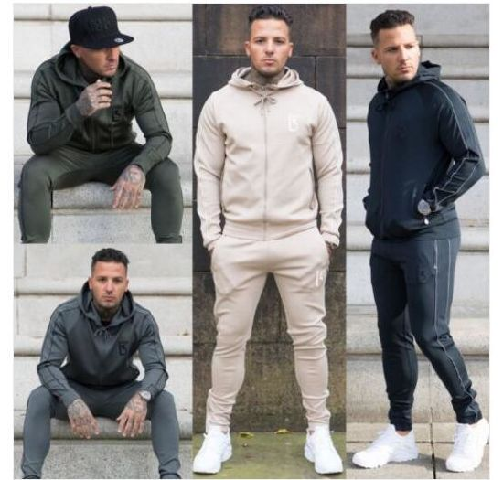 Wholesale Custom Mens Hoodie Tracksuit pictures & photos