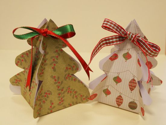 Christmas Tree Gift Boxes Wholesale with Competitive Price