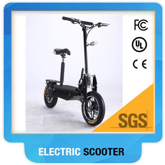 48V 1600watt Two Wheel Electric Scooter Foldable