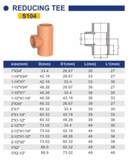cpvc fire sprinkler system industry pipe and fittings reducing tee
