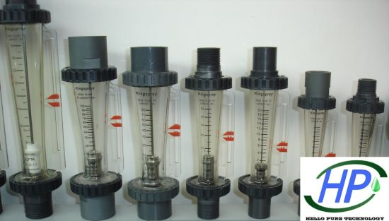 Tube Type Flow Meter for Industrial RO Water Treatment System