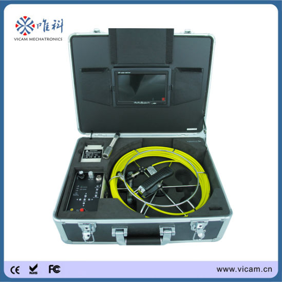 Sewer Drain Pipe Inspection Camera with 12 PCS LEDs (V7-3188D)