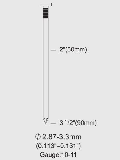 China Rhf9021 Air/Pneumatic Magnesium Housing Round Head Framing ...