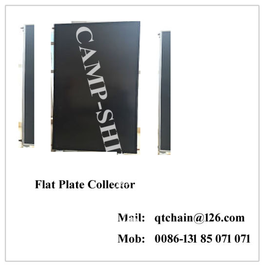 Flat Plate High Pressure Split Blue Absorber Solar Collector
