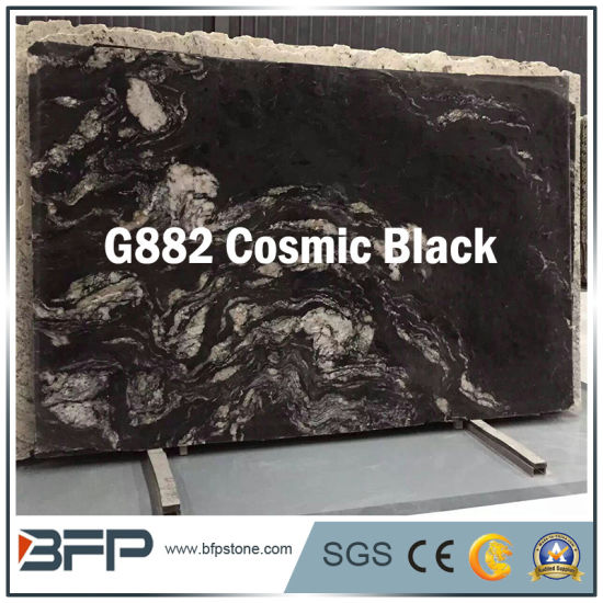 New Granite Cosmic Black Higher Standard Decoration Material Countertop Workbench pictures & photos