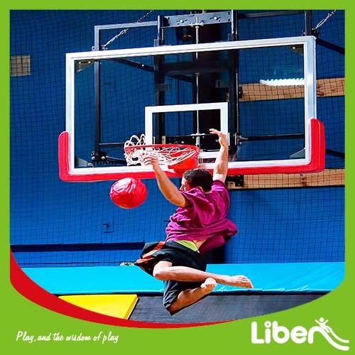 Liben Mini Trampoline with Foam Pit for Kids pictures & photos