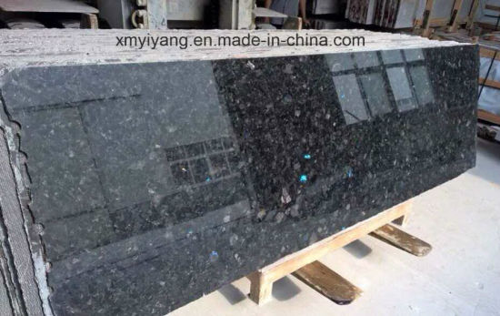 Polished Volga Blue Granite Slab For Kitchen Countertop (YY  GS003)