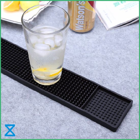 High Quality PVC Rubber Silicone Bar Mat for 2020 Promotional Gifts