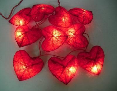 designer fashion 57989 834cf China Outdoor Heart Shaped LED Solar String Lights - China ...