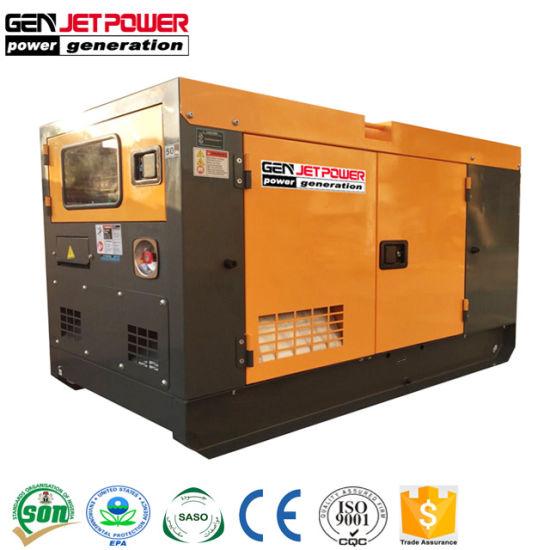 Small Portable Genset 15kVA 15kw Generator Diesel Single Phase Price