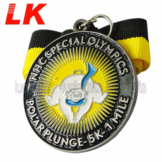 Factory Custom Marathon Event Award Medals with Lanyard