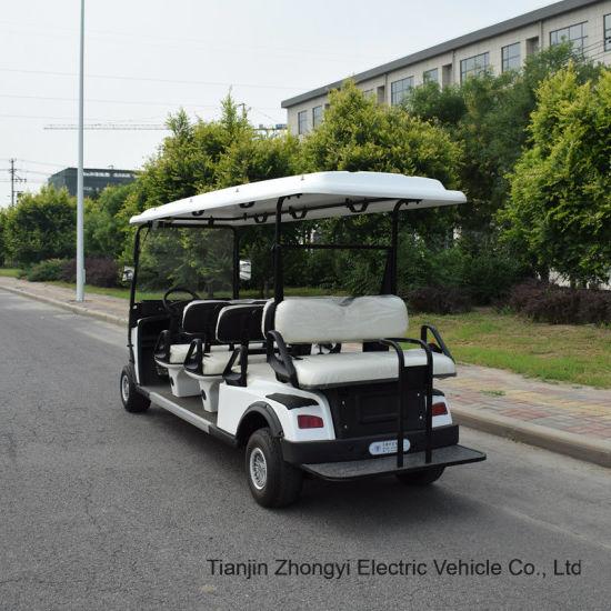 Electric Golf Cart Golf Trolley 6+2seater