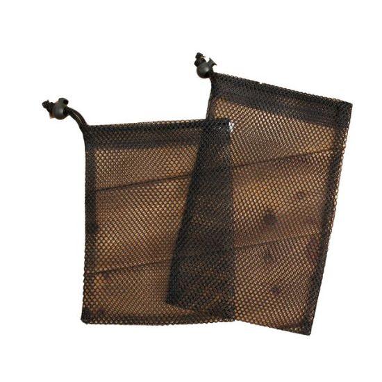 Wholesale Reusable Black Mesh Drawstring Bag Pouch, Promotional Gift Packaging Bag