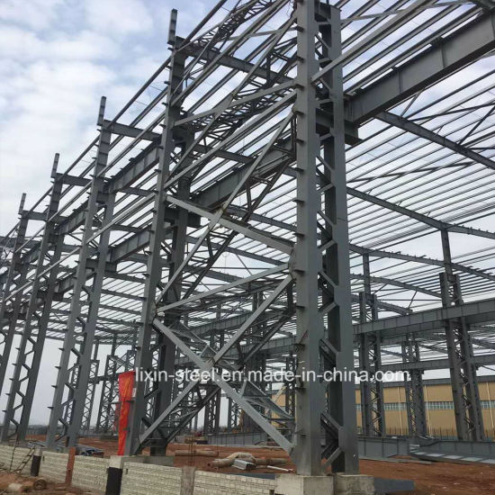 Prefab House Modular Frames Workshop Warehouse Plant Factory Building Steel Structure pictures & photos