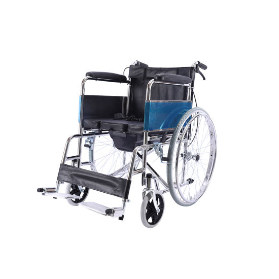 Hot Hot Sale High Quality Handicapped Hospital Aluminum Standard Wheelchair