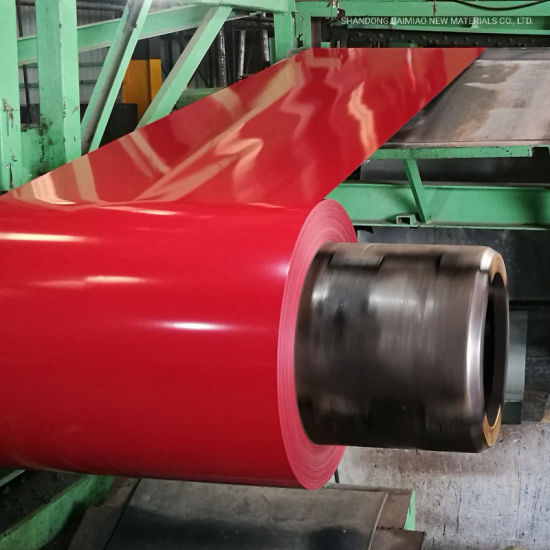 Prepainted Steel PPGI Color Coated Steel Coils