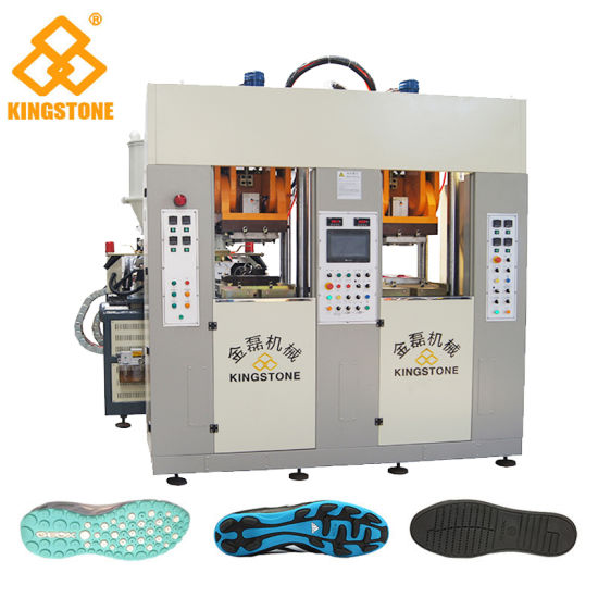 Automatic Static Injection Molding Machine for Making Shoe Sole in TPU/TR/PVC/TPR Material
