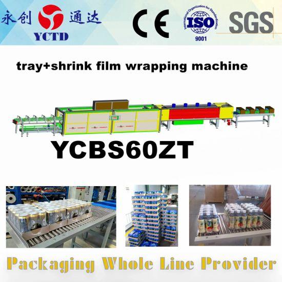 film wrapping machine carton packer tray cardboard machine