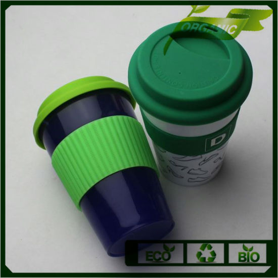 China Promotional Custom Plastic PP Silicone Reusable Coffee