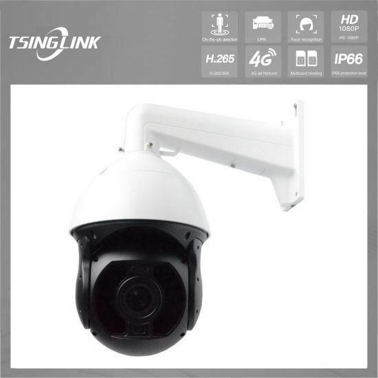 Digital WDR H265 1080P IR 360 PTZ Dome Camera