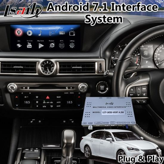 Android 7 1 Gps Navigation For Lexus Gs200t Mouse Control 2016 2018