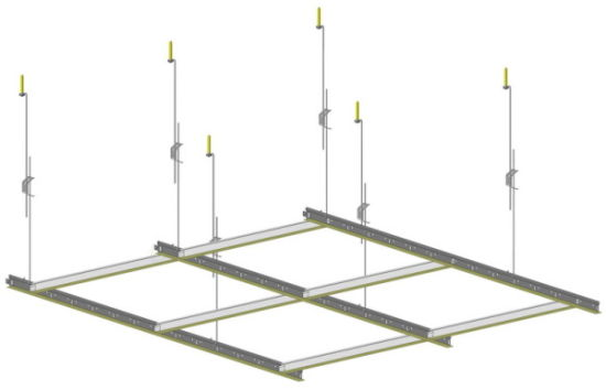 China Suspended Ceiling T Grid