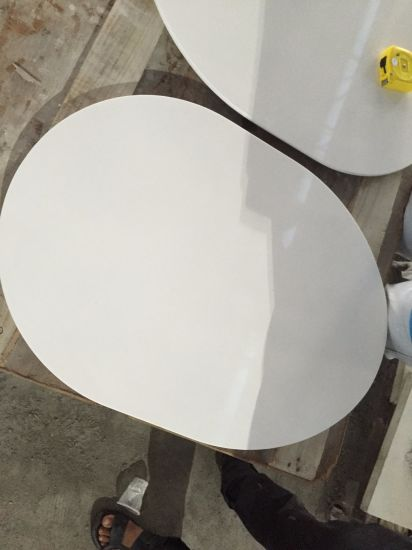 China Quartz Table Tops Round Table Tops Customized Shape