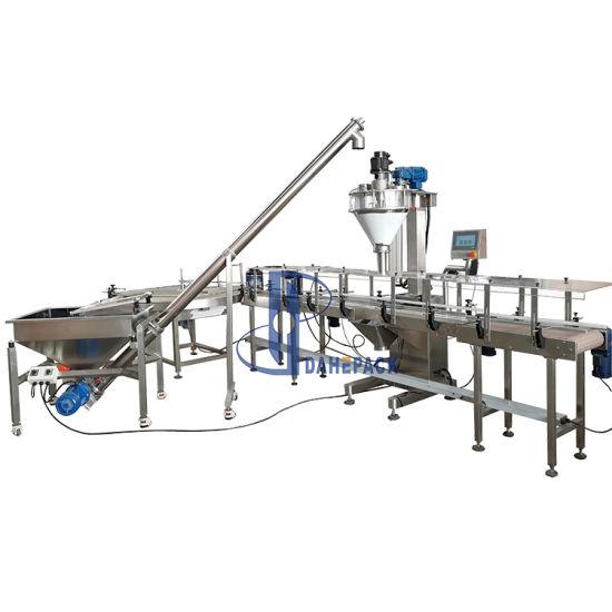 Automatic Vitamins Bottle Powder Filling Machine