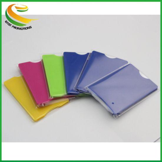ABS Waterproof Plastic RFID Blocking Credit Card Holder