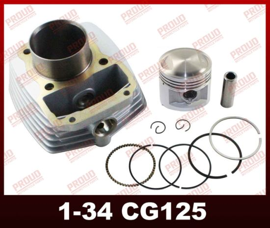 Motorcycle Engine Parts Cg125 Cylinder Kit Motorcycle Spare Parts