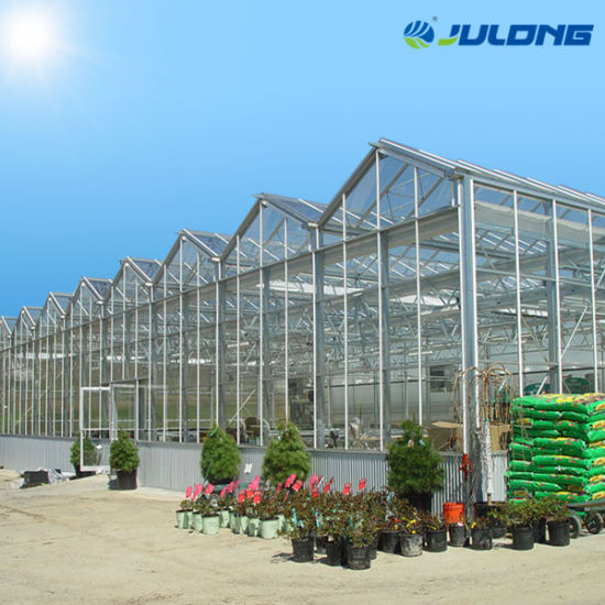 Ecological Intelligent Glass Greenhouse with Good Light Transmission/Insulation Performance for Vegetable/Flower/Fruit
