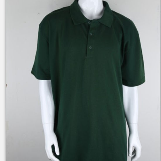 Customized Wholesale 100% Cotton Casual Blank Men Polo T-Shirt for Sport