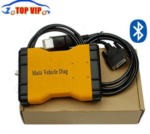 2018 Bluetooth Multi Vehicle Diag Mvd Diagnostic Tool 2015 R3/R1 Newest Same as Tcs Cdp New Vci OBD Scanner for Cars &Trucks