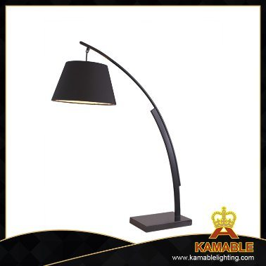 Modern High Quality Steel Marble Fabric Lampshade Table Lamps (MT5089-B)