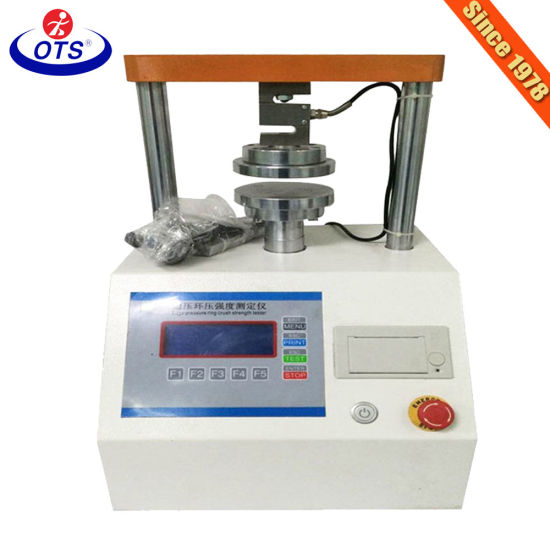 Intelligent Equipment LCD Display Edge Crush Test Machine