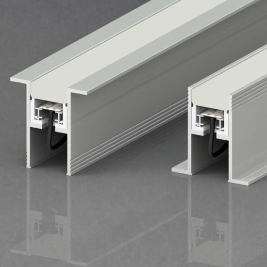 China new design high quality waterproof led linear light for new design high quality waterproof led linear light for inground recessed installation ce rohs commercial lighting dimmable led light for office lighting mozeypictures Choice Image