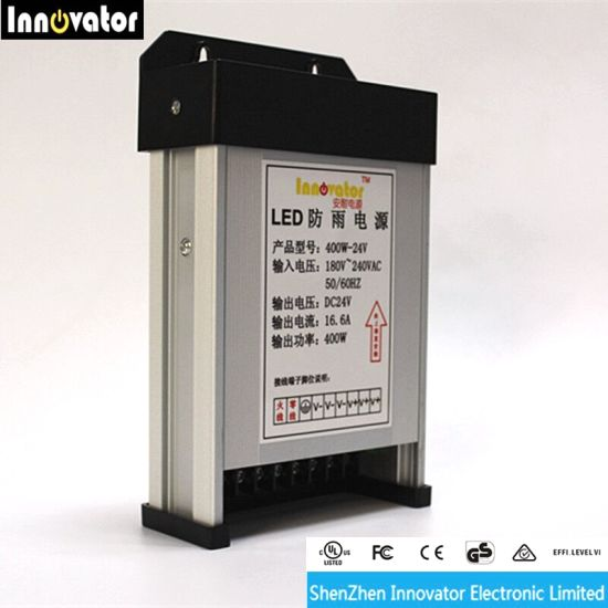 400W Rainproof Power Supply for LED Light