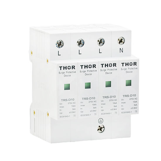 Power Surge Protector Device 10ka Indoor Lightning Arrester House Surge Protector pictures & photos