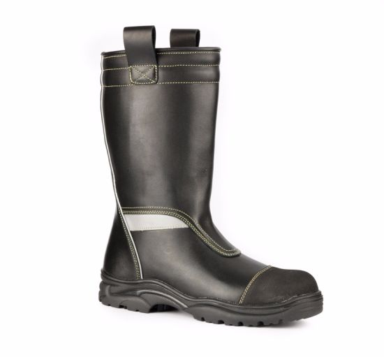 Fireman Boots Safety Shoes and Footwear for Firefighters Sc-5599