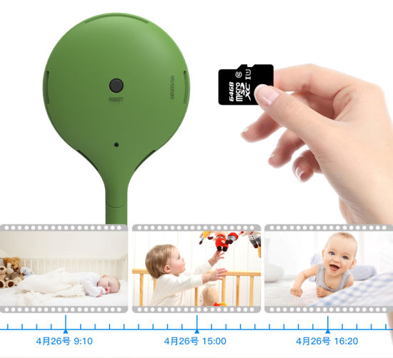 Wireless Nanny Baby Monitor WiFi Camera 2 Way Audio Night Vision Security Camera Temperature Monitor Lullaby Babysitter pictures & photos