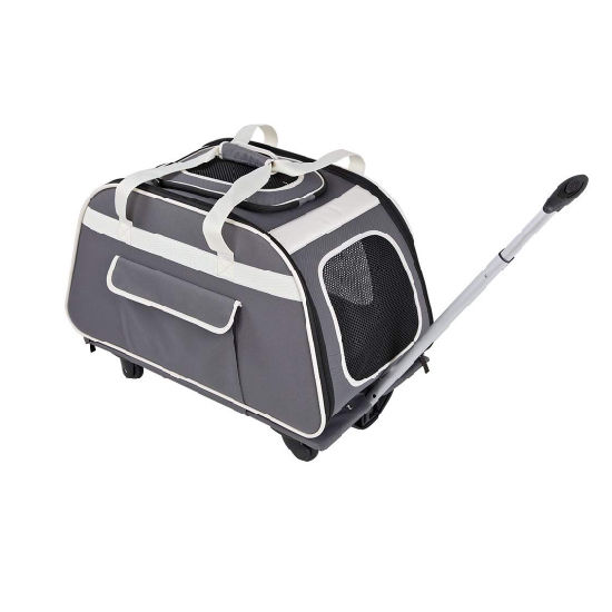 2019 Hot Pet Carrier Bag Rolling Pet Carrier for Pets up to 28 Pounds
