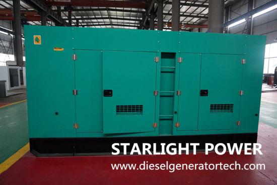 Low Noise Diesel Generator Capacity 85kVA 750kVA Powered By Volvo Penta