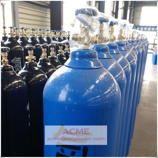 ISO Standard Seamless Steel Oxygen Nitrogen CO2 Gas Cylinder