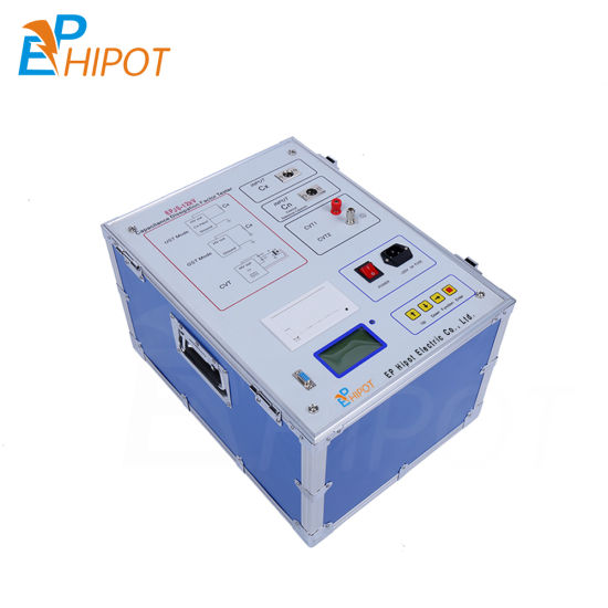 China Automatic Power Transformer Tan Delta and Capacitance Dielectric Loss & Dissipation Factor Tester 12kv