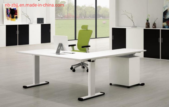 Popular Home Design Hotel Furniture Wooden Workstation Executive Table Office Desk pictures & photos